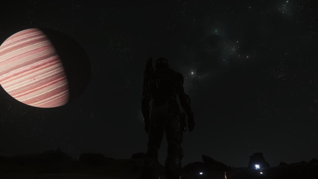 Yela bei Nacht